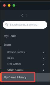 origin game library